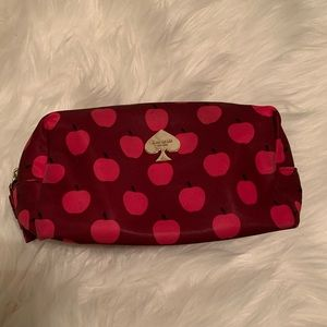 Kate Spade Apple Make Up/Pencil Pouch